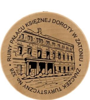 znaczek pałac